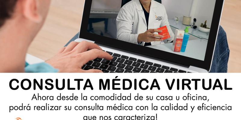 Consulta médica virtual ADEI
